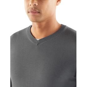 Icebreaker Quailburn Sweater Herrer, grå